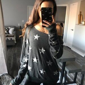 Wildfox star pullover